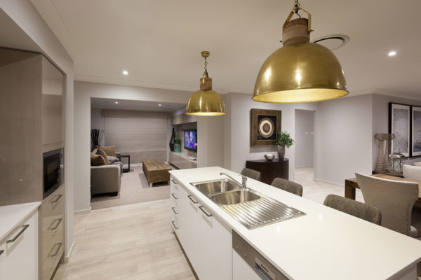 Walk Right In to your kitchen & media room