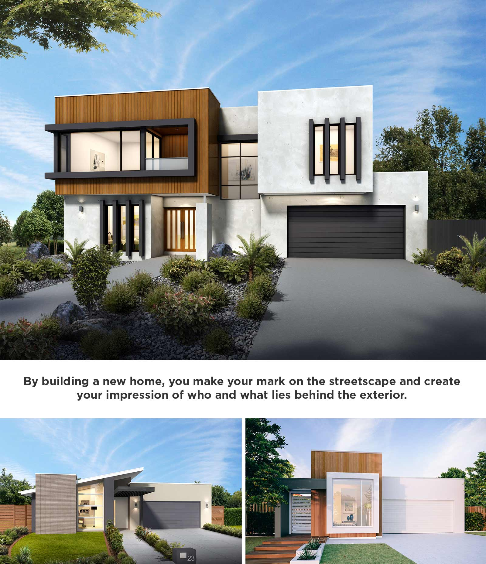Investing In Street Appeal With Style Stylemaster Homes